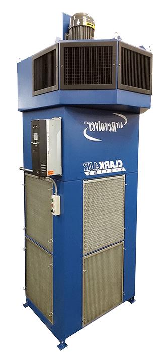 Industrial Air Cleaner Air Revolver 8000