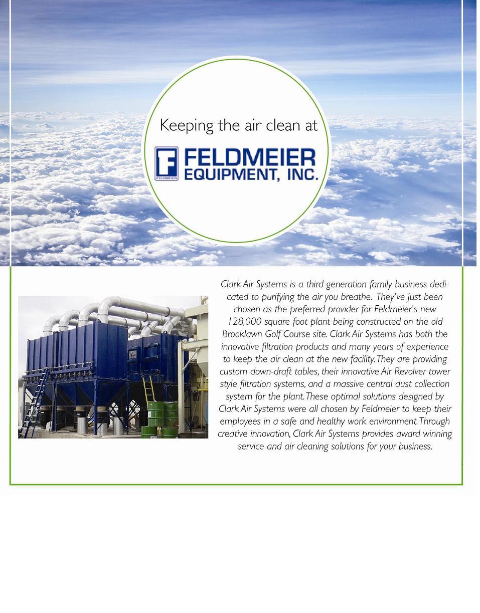 Industrial Air Cleaners at Feldmeier Equipment Inc.
